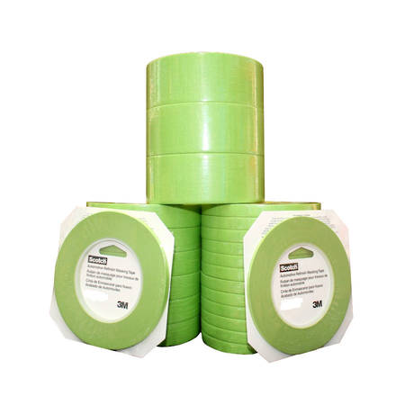 3M 401+ Green Masking Tape 18mm x 55mtr