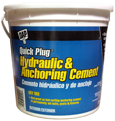 DAP Quick Plug Anchoring Cement 10lb