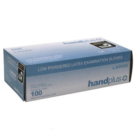 HANDPLUS Latex Gloves 100