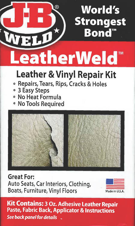 JB Weld Leather-Weld Repair Kit