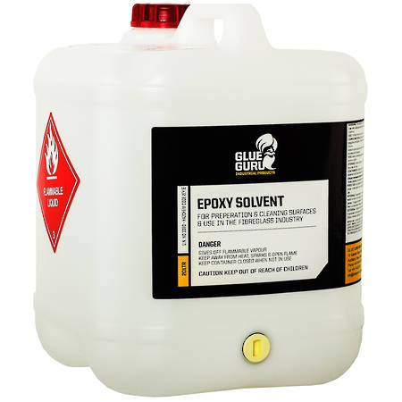 GLUE GURU Epoxy Solvent Cleaner & Thinner