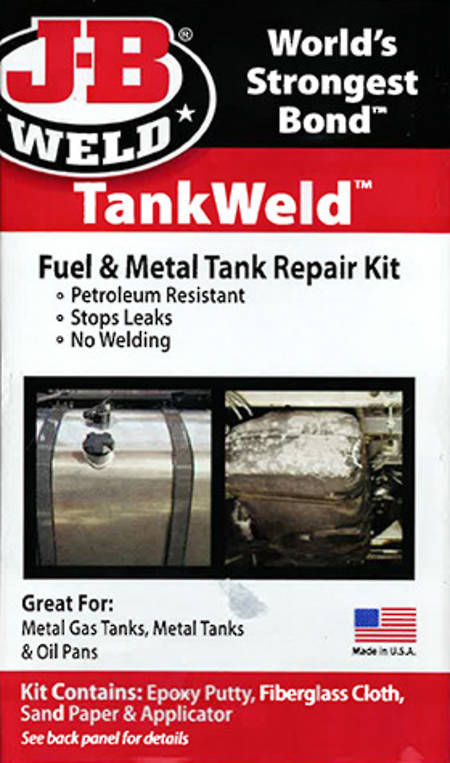 JB Weld Tank-Weld Repair Kit
