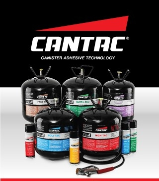 CANTAC CANISTER SPRAY CONTACT ADHESIVE