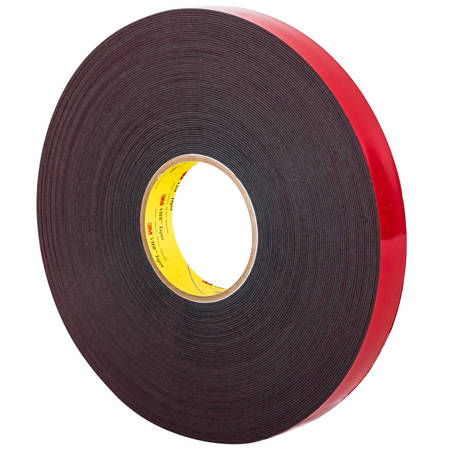 3M 5925 VHB Tape 66mtr Black (0.64mm)
