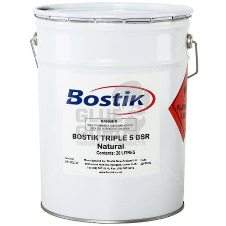 BOSTIK 555 Contact Adhesive Natural 20ltr